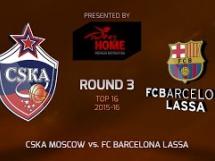 CSKA Moskwa 93:82 Regal Barcelona