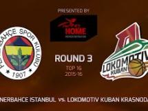 Fenerbahce 85:79 Lokomotiv Kubań