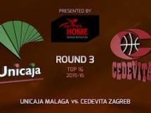 Unicaja Malaga - Cedevita Zagreb