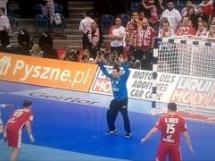 Szmal broni karnego Nikcevicia w meczu z Serbią!