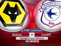 Wolverhampton 1:3 Cardiff City