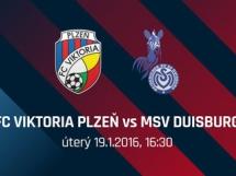 MSV Duisburg 1:0 Viktoria Pilzno