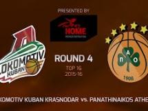 Lokomotiv Kubań 76:67 Panathinaikos