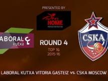 Laboral Kutxa 81:71 CSKA Moskwa