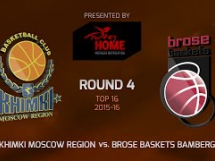 Chimki Moskwa 78:61 Brose Baskets