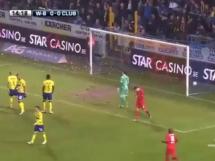Waasland-Beveren 1:2 Club Brugge