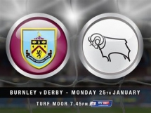 Burnley 4:1 Derby County