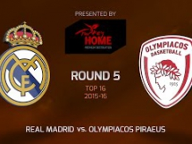 Real Madryt 84:72 Olympiacos Pireus