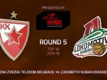 Crvena Zvezda 80:66 Lokomotiv Kubań