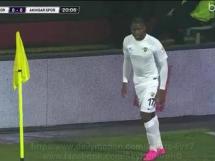 Trabzonspor 0:1 Akhisar Belediye