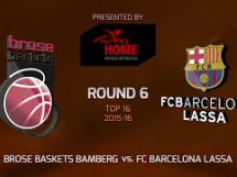 Brose Baskets 74:70 Regal Barcelona