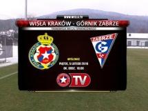 Wisła Kraków 2:1 Górnik Zabrze