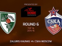 Żalgiris Kowno 59:94 CSKA Moskwa