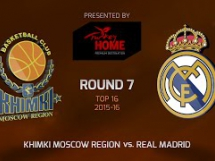 Chimki Moskwa 82:93 Real Madryt