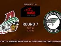 Lokomotiv Kubań 82:58 Darussafaka