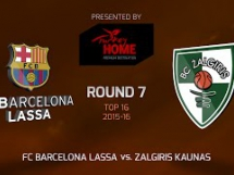 Regal Barcelona 92:86 Żalgiris Kowno