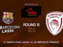 Regal Barcelona 82:66 Olympiacos Pireus
