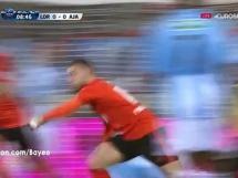 Lorient 3:0 Gazelec Ajaccio