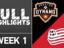 Houston Dynamo 3:3 New England Revolution