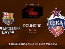 Regal Barcelona 100:98 CSKA Moskwa