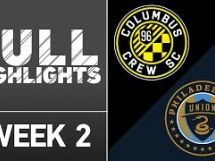 Columbus Crew 1:2 Philadelphia Union