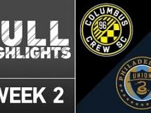 Columbus Crew 1:2 Philadelphia Union