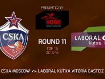 CSKA Moskwa 90:78 Laboral Kutxa