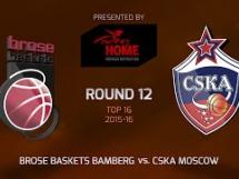 Brose Baskets 91:83 CSKA Moskwa