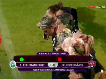 FFC Frankfurt 0:1 Rosengard