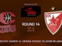 Cedevita Zagreb 83:62 Crvena Zvezda