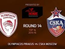 Olympiacos Pireus 96:99 CSKA Moskwa
