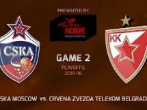 CSKA Moskwa 77:76 Crvena Zvezda