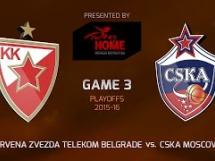 Crvena Zvezda 71:78 CSKA Moskwa