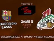 Regal Barcelona 82:70 Lokomotiv Kubań