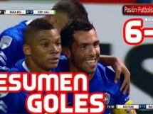 Boca Juniors 6:2 Deportivo Cali