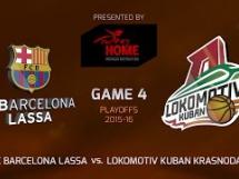 Regal Barcelona 80:92 Lokomotiv Kubań