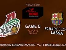 Lokomotiv Kubań 81:67 Regal Barcelona