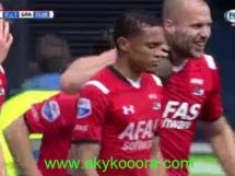 AZ Alkmaar 4:1 De Graafschap