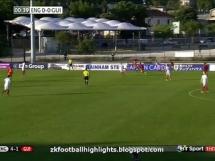 Anglia U20 7:1 Gwinea U20