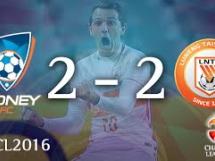 Sydney FC 2:2 Shandong Luneng