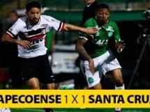 Chapecoense 1:1 Santa Cruz