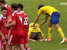 FK Ventspils 0:1 Aberdeen