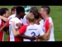 Slavia Praga 2:0 Levadia Tallinn