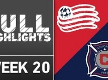 New England Revolution 1:0 Chicago Fire