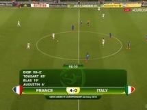 Włochy U19 0:4 Francja U19