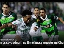 Chapecoense 1:1 Palmeiras