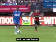 NEC Nijmegen 1:1 PEC Zwolle