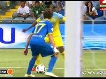 FK Astana 2:0 BATE Borysów