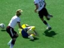 Szwecja 1:2 Niemcy
