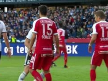 Rosenborg 1:2 Austria Wiedeń